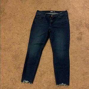 Old Navy Dark Rockstar Skinny Jeans